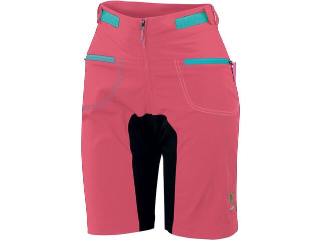 Karpos Ballistic Evo Pantaloncini Donna, paradise pink